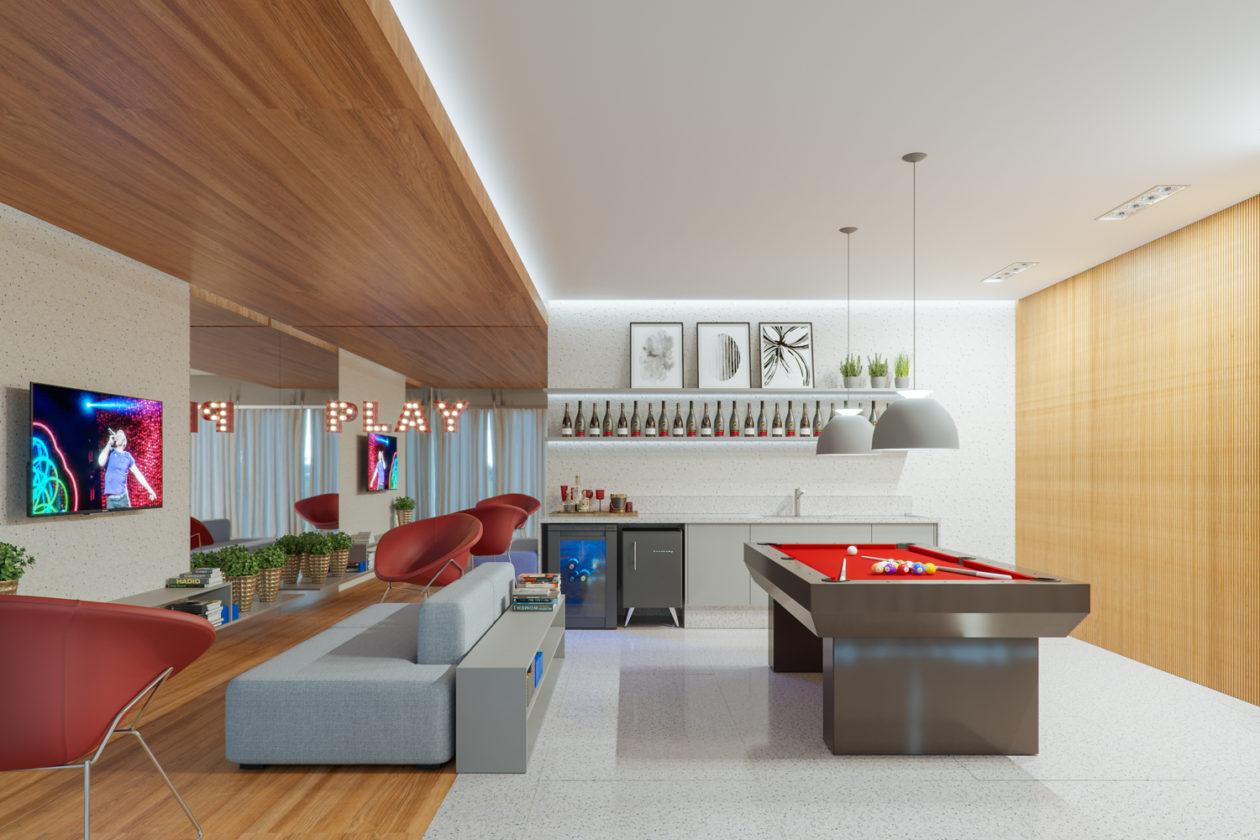 Liv 703-Apartamento 1 Quarto Asa Norte